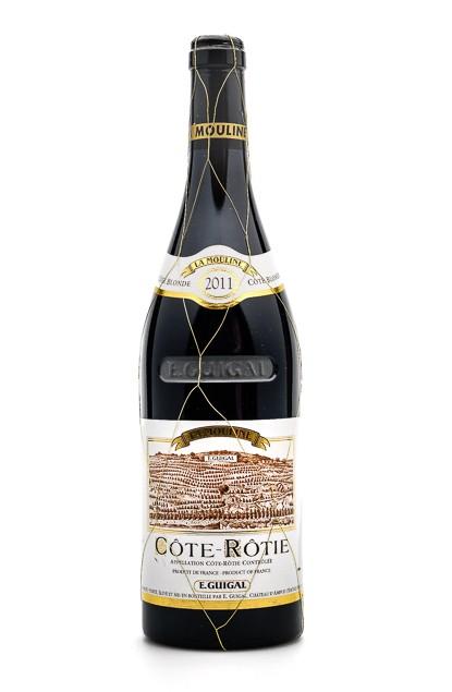 """COTE ROTIE """"LA MOULINE"""" 2011 GUIGAL WA 98/100"""